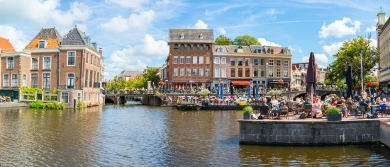 Leiden's lovely city centre