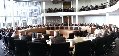 Meeting of a Bundestag committee