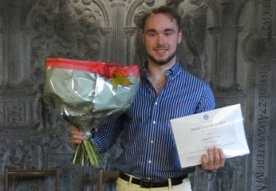 Samuel Jong, winner 2016 Political Science MSc Thesis Prize