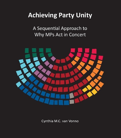 Cover dissertation Cynthia van Vonno (Achieving Party Unity)