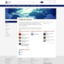 Home page Institute Political Science (Leiden University)