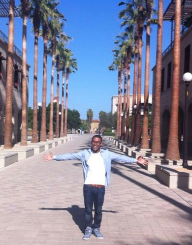 Tyron Offerman at Stanford University
