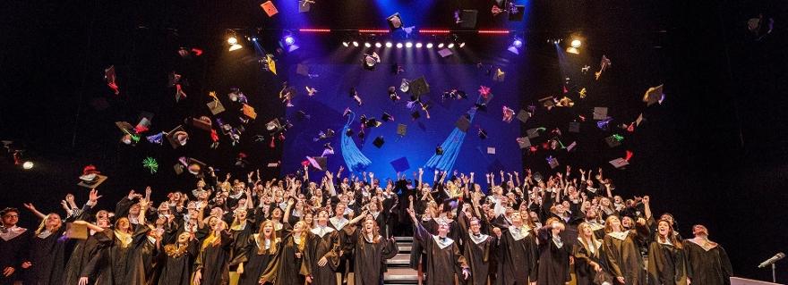 luc the hague graduation ceremony class of 2018 leiden university