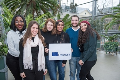 International Credit Mobility students at Leiden University, Fall 2019