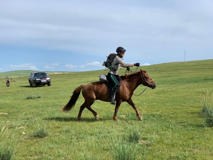 In the Summer of 2019, Mike joined the Mongol Derby, an off-road horse race in Mongolia.