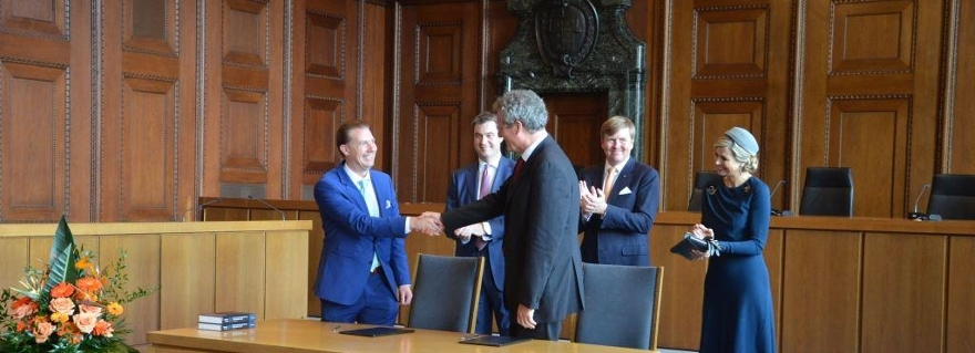 Grotius Centre and Nuremberg Academy sign partnership agreement