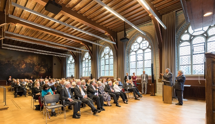 The audience at the eighth Europa Lecture in the