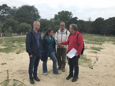 Interview on the site of the TERRA-Dunes project