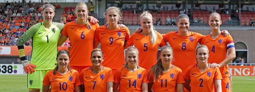 Data analysis is really helping the Dutch national women's