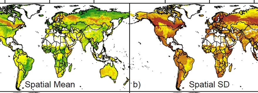 New ecological maps show a wider range of functional diversity ... on
