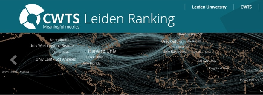 CWTS Leiden Ranking 2019: indicators open access and gender