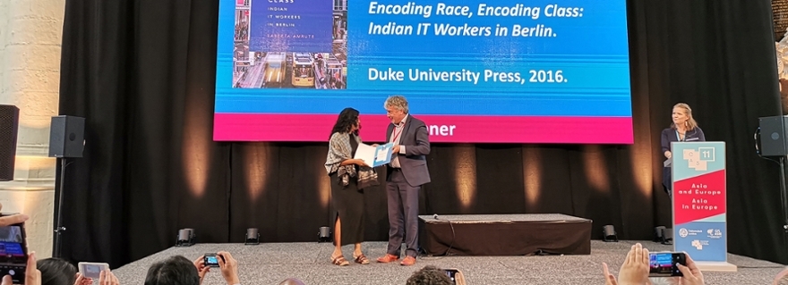 ICAS Book Prize awarded at opening ceremony of the Asian Studies