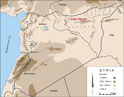 Tell Sabi Abyad in Syria